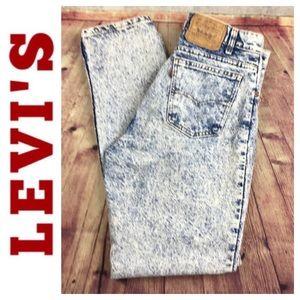🐞Men's Vintage Levi's 550 acid wash jean size 34